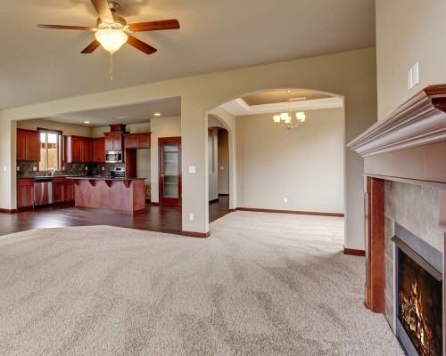 Half Carpet, Half Wood