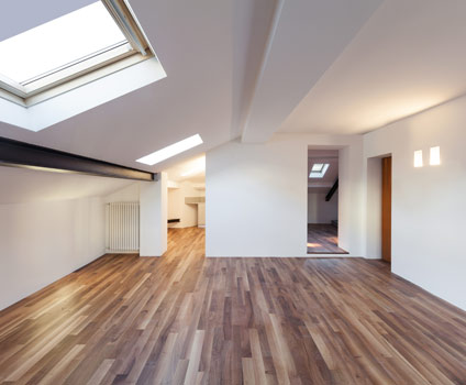 Loft Conversion with Laminate Flooring