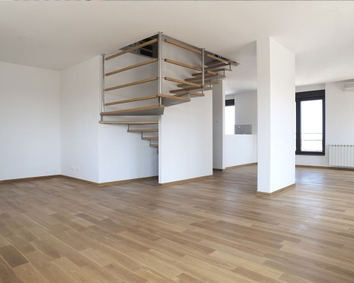 Laminate Flooring with Stairs